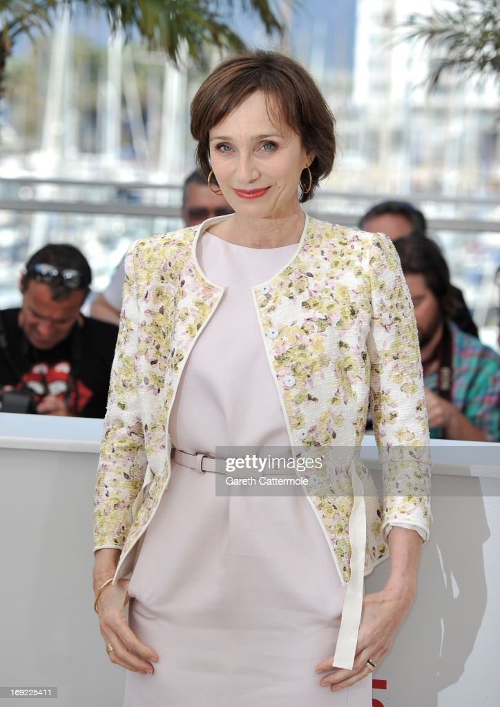 Actress Kristin Scott Thomas attends the 'Only God Forgives' Photocall during the 66th Annual Cannes Film Festival on May 22, 2013 in Cannes, France.