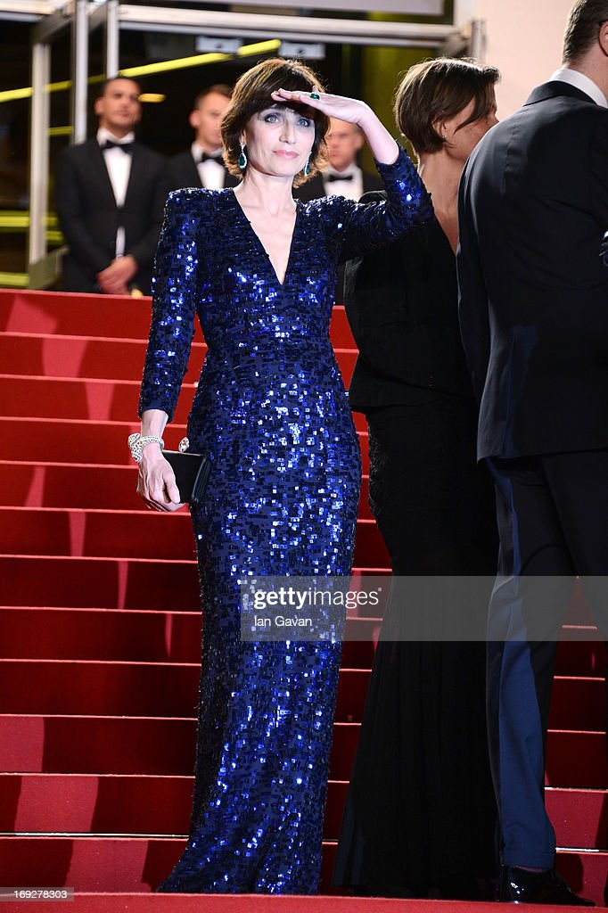 Actress Kristin Scott Thomas attends the 'Only God Forgives' Premiere during the 66th Annual Cannes Film Festival at Palais des Festivals on May 22, 2013 in Cannes, France.