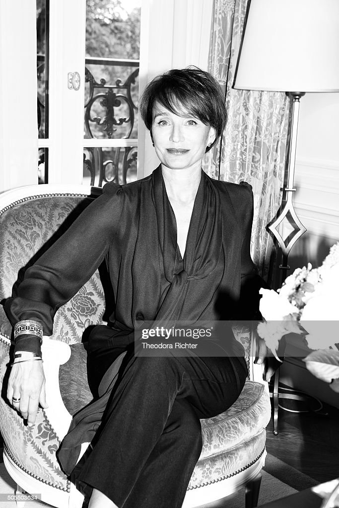 Actress Kristin Scott Thomas is photographed for L'Express Style on June 7, 2015 in Paris, France.