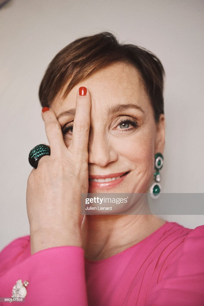 Actress Kristin Scott Thomas is photographed for Self Assignment on May 22, 2017 in Cannes, France.