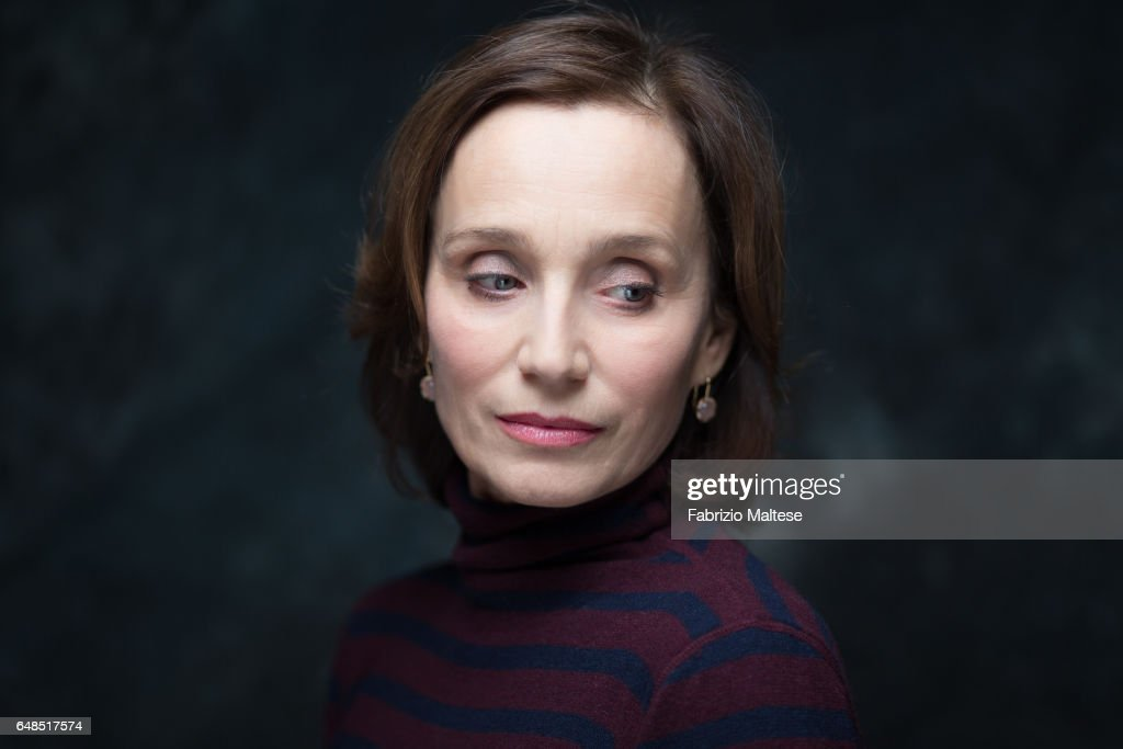 Actress Kristin Scott Thomas is photographed for The Hollywood Reporter on February 13, 2017 in Berlin, Germany.