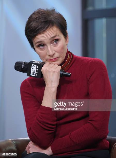 Actress Kristin Scott Thomas visits Build Studio to discuss the movie 'Darkest Hour' on November 14 2017 in New York City