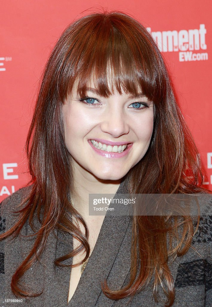 Actress Kristin Slaysman attends the 'Save The Date' premiere during the 2012 Sundance Film Festival held at Library Center Theater on January 22, 2012 in Park City, Utah.