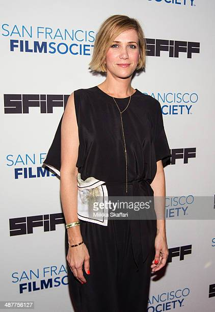 Actress Kristin Wiig arrives at the premiere of 'The Skeleton Twins' at San Francisco International Film Festival on May 1 2014 in San Francisco...