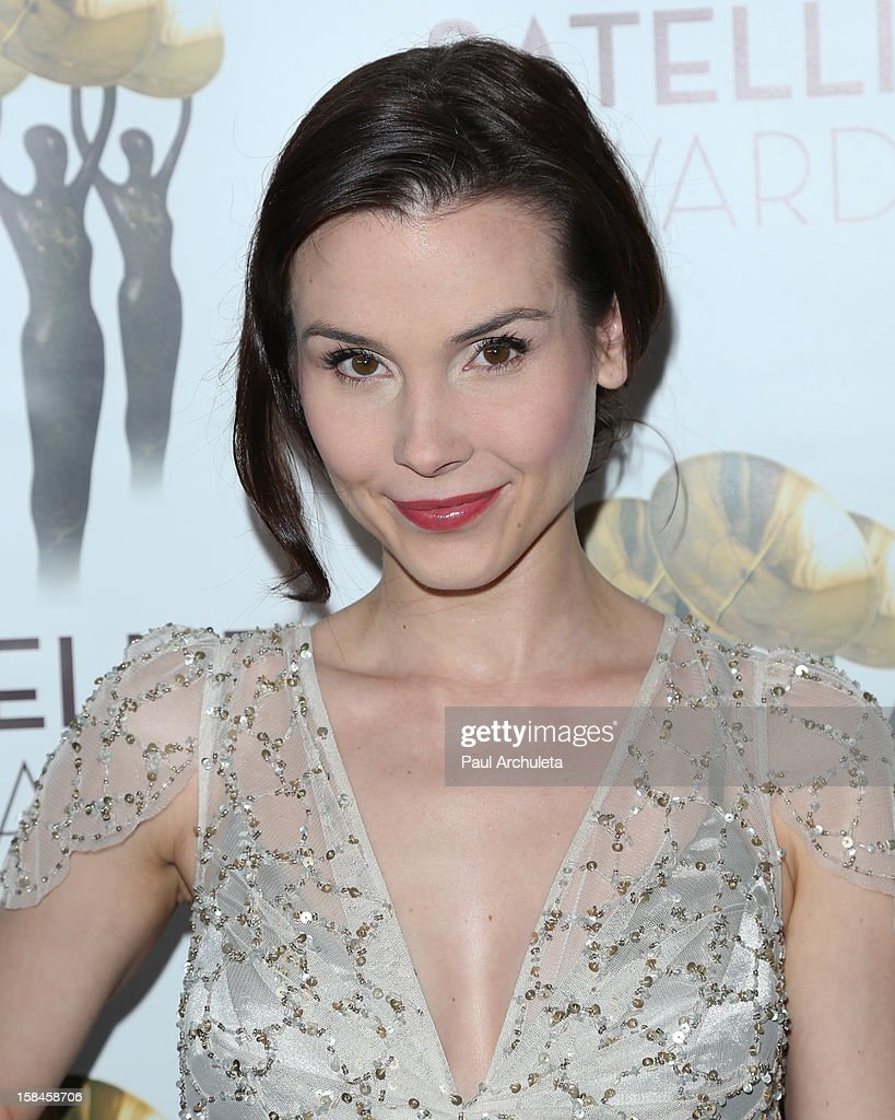 Actress Kristina Anapau attends the International Press Academy's 17th Annual Satellite Awards at InterContinental Hotel on December 16, 2012 in Century City, California.