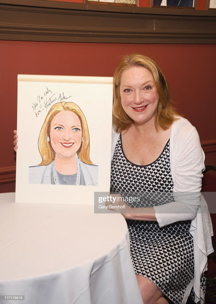 Actress Kristine Nielsen attends her caricature unveiling at Sardi's on August 21 2013 in New York City