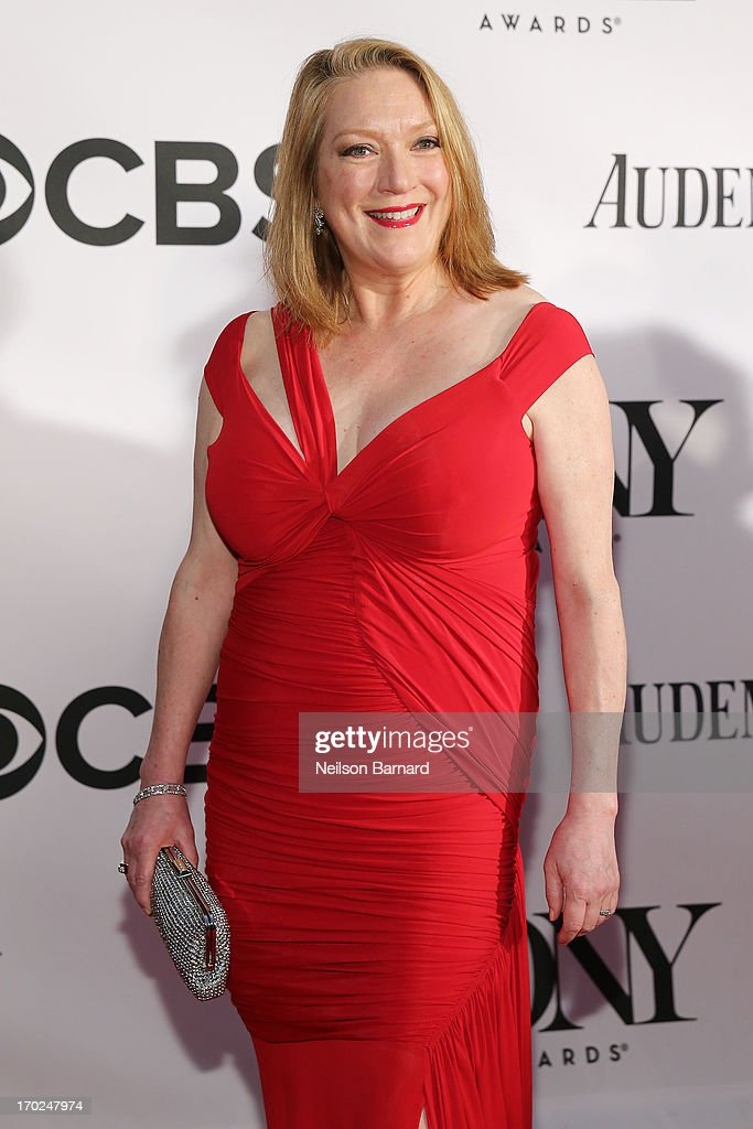 Actress Kristine Nielsen attends The 67th Annual Tony Awards at Radio City Music Hall on June 9 2013 in New York City
