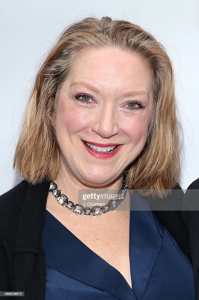 Actress Kristine Nielsen attends the Opening Night of 'Gigi' at the Neil Simon Theatre on April 8 2015 in New York City