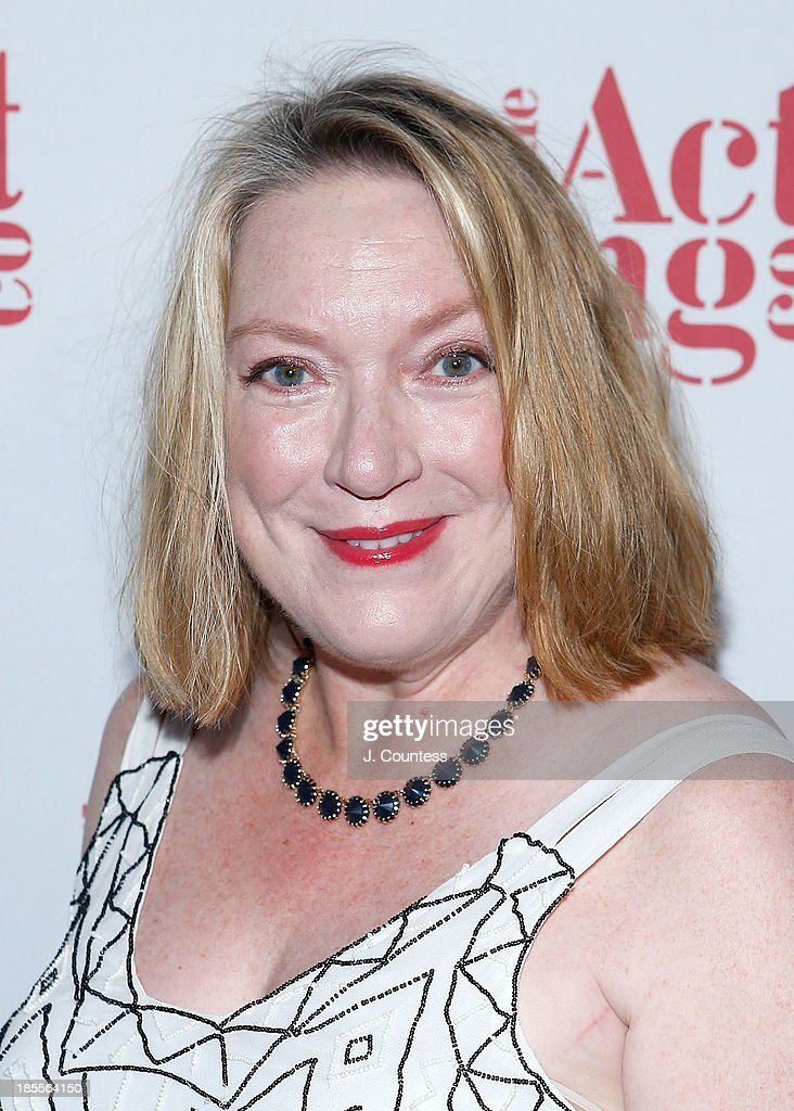 Actress Kristine Nielson attends the 2013 Acting Company's Gala at Capitale on October 21 2013 in New York City