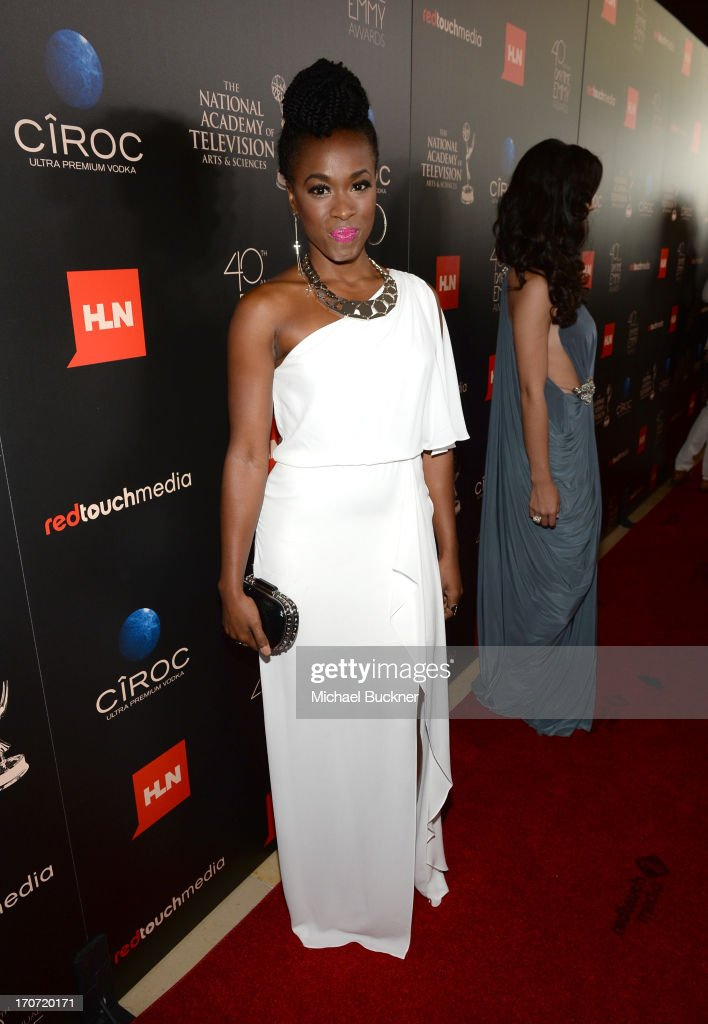 Actress Kristolyn Lloyd attends the 40th Annual Daytime Emmy Awards at the Beverly Hilton Hotel on June 16, 2013 in Beverly Hills, California. 23774_001_0873.JPG