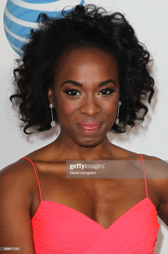Actress Kristolyn Lloyd attends the 44th NAACP Image Awards at the Shrine Auditorium on February 1, 2013 in Los Angeles, California.