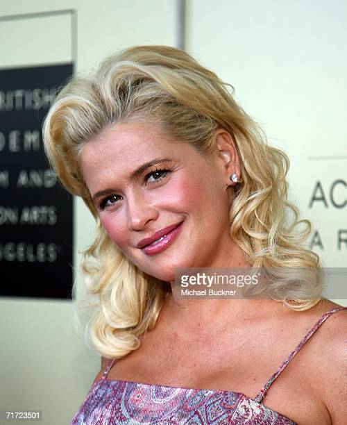 Actress Kristy Swanson arrives at the BAFTA/LAAcademy of Television Arts and Sciences Tea Party at the Century Hyatt on August 26 2006 in Century...