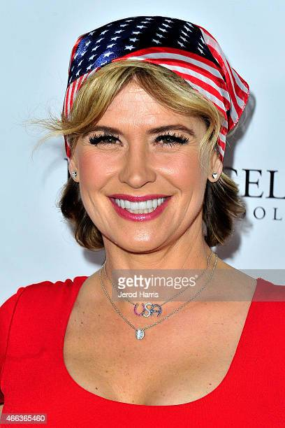 Actress Kristy Swanson attends National Foundation for Military Family Support's First Annual Salute to Heroes Service Gala at The Majestic Downtown...