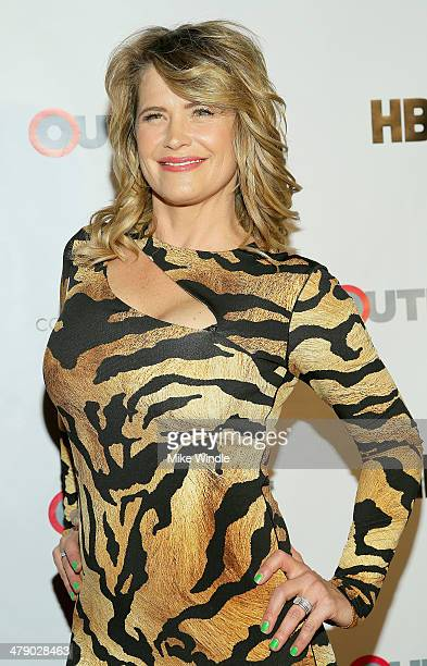 Actress Kristy Swanson attends the Outfest Fusion LGBT People Of Color Film Festival Outfest Fusion Achievement Awards at the Egyptian Theatre on...