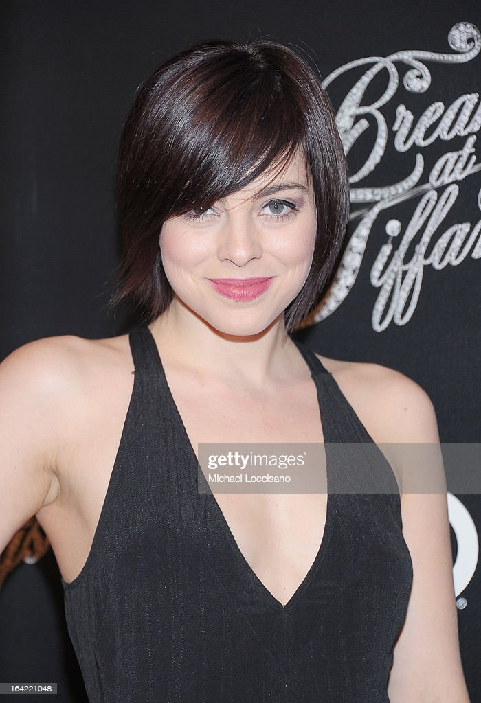 Actress Krysta Rodriguez attends the 'Breakfast At Tiffany's' Broadway Opening Night after party at The Edison Ballroom on March 20, 2013 in New York City.