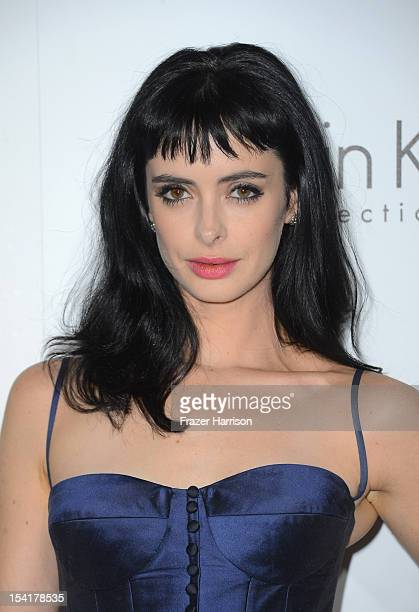 Actress Krysten Ritter arrives at ELLE's 19th Annual Women In Hollywood Celebration at the Four Seasons Hotel on October 15 2012 in Beverly Hills...