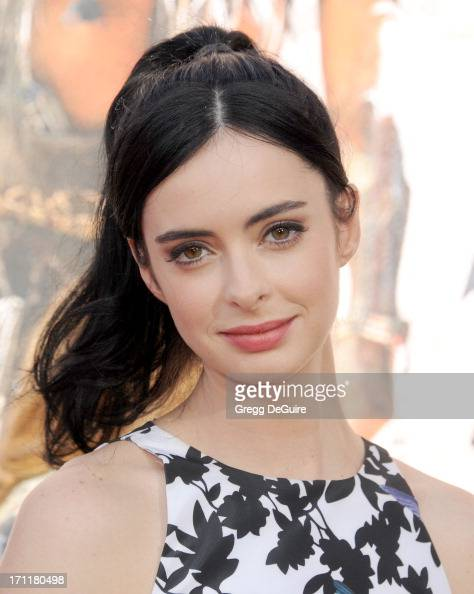 Actress Krysten Ritter arrives at 'The Lone Ranger' World Premiere at Disney's California Adventure on June 22 2013 in Anaheim California