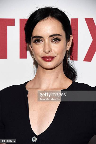 Actress Krysten Ritter arrives at the Netflix's Rebels and Rule Breakers Luncheon and Panel Celebrating The Women of Netflix at the Beverly Wilshire...