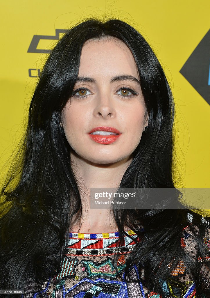 Actress Krysten Ritter arrives at the premiere of 'Veronica Mars' during the 2014 SXSW Music, Film + Interactive Festival at the Paramount Theatre on March 8, 2014 in Austin, Texas.