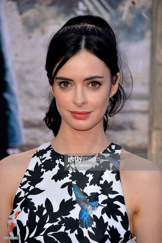 Actress <a gi-track='captionPersonalityLinkClicked' href=/galleries/search?phrase=Krysten+Ritter&family=editorial&specificpeople=655673 ng-click='$event.stopPropagation()'>Krysten Ritter</a> arrives at the premiere of Walt Disney Pictures' 'The Lone Ranger' at Disney California Adventure Park on June 22, 2013 in Anaheim, California.