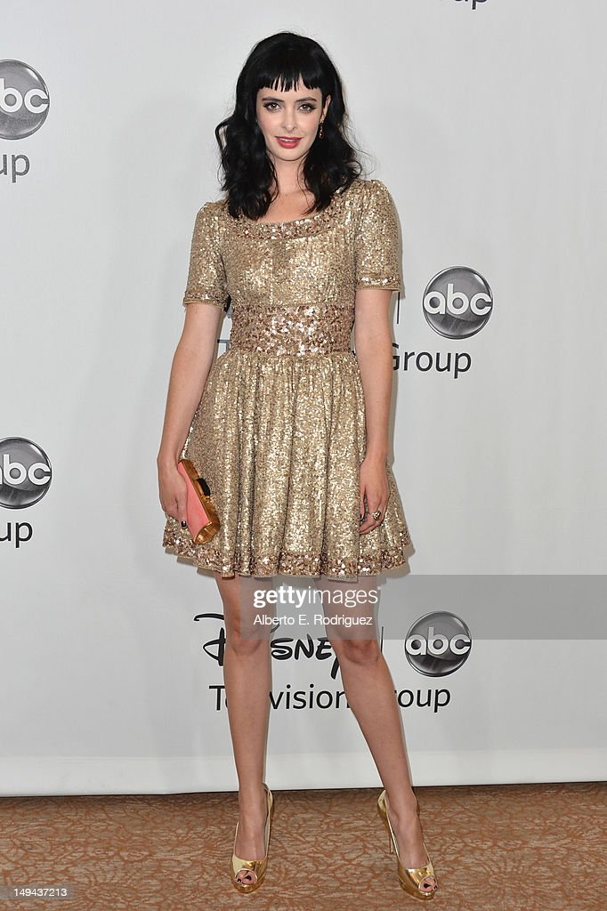 Actress Krysten Ritter arrives to the Disney ABC Television Group's 2012 'TCA Summer Press Tour' on July 27, 2012 in Beverly Hills, California.