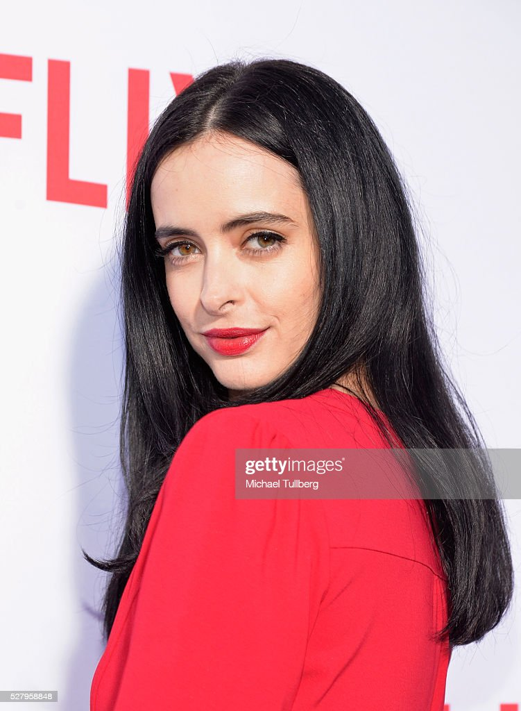 Actress <a gi-track='captionPersonalityLinkClicked' href=/galleries/search?phrase=Krysten+Ritter&family=editorial&specificpeople=655673 ng-click='$event.stopPropagation()'>Krysten Ritter</a> attends a For Your Consideration screening and Q&A for the Netflix Original Series' 'Marvel's Jessica Jones' at Paramount Studios on May 3, 2016 in Hollywood, California.
