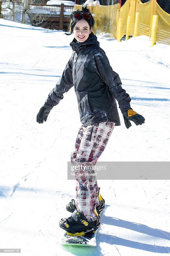 Actress Krysten Ritter attends Oakley Learn To Ride With AOL At Sundance Day 3 on January 19, 2014 in Park City, Utah.