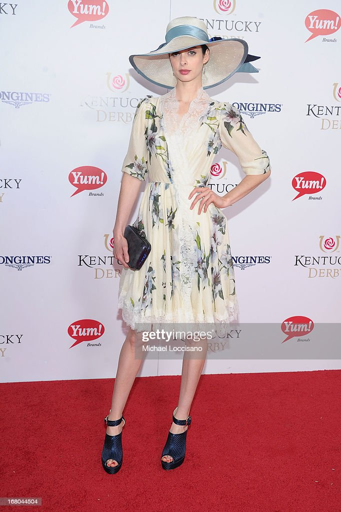 Actress Krysten Ritter attends the 139th Kentucky Derby at Churchill Downs on May 4, 2013 in Louisville, Kentucky.