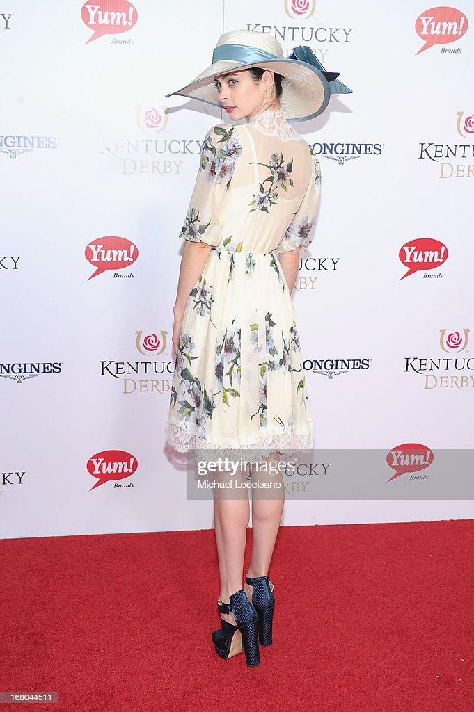 Actress Krysten Ritter attends the 139th Kentucky Derby at Churchill Downs on May 4, 2013 in Louisville, Kentucky.