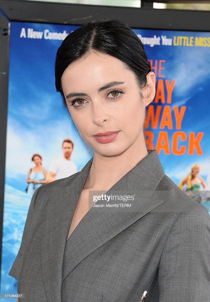 Actress <a gi-track='captionPersonalityLinkClicked' href=/galleries/search?phrase=Krysten+Ritter&family=editorial&specificpeople=655673 ng-click='$event.stopPropagation()'>Krysten Ritter</a> attends the 2013 Los Angeles Film Festival premiere of the Fox Searchlight Pictures' 'The Way, Way Back' held on June 23, 2013 in Los Angeles, California.