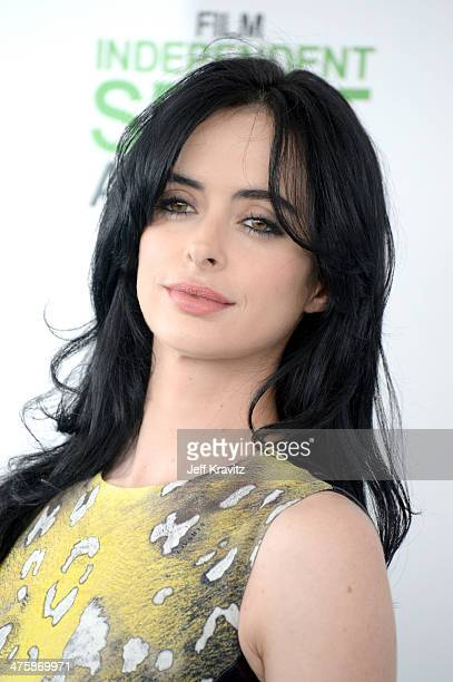 Actress Krysten Ritter attends the 2014 Film Independent Spirit Awards on March 1 2014 in Santa Monica California