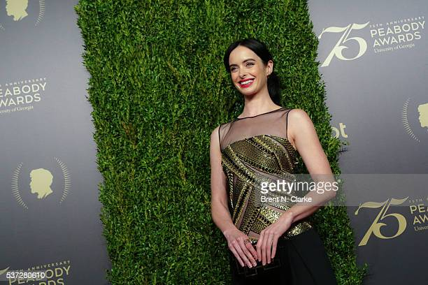 Actress Krysten Ritter attends the 75th Annual Peabody Awards Ceremony held at Cipriani Wall Street on May 21 2016 in New York City