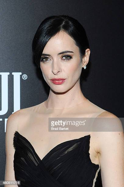 Actress Krysten Ritter attends the 'Big Eyes' New York Premiere at Museum of Modern Art on December 15 2014 in New York City