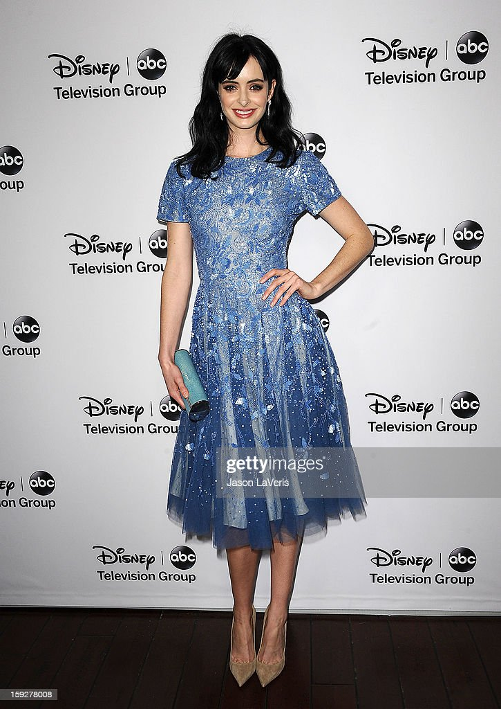Actress Krysten Ritter attends the Disney ABC Television Group 2013 TCA Winter Press Tour at The Langham Huntington Hotel and Spa on January 10, 2013 in Pasadena, California.