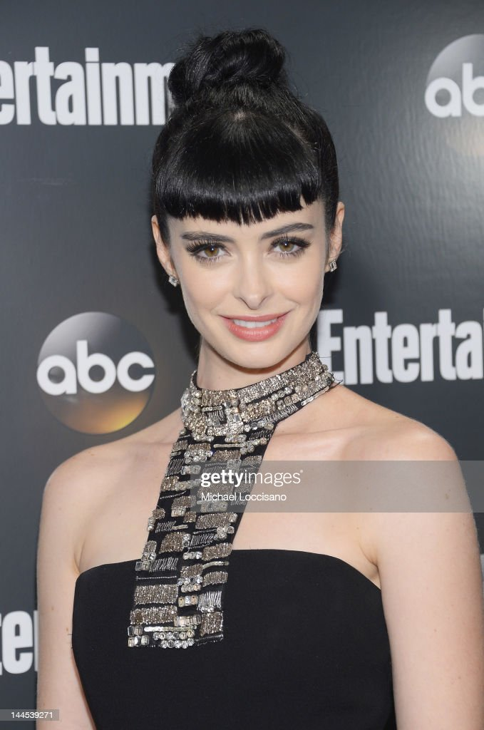 Actress Krysten Ritter attends the Entertainment Weekly & ABC-TV Up Front VIP Party at Dream Downtown on May 15, 2012 in New York City.
