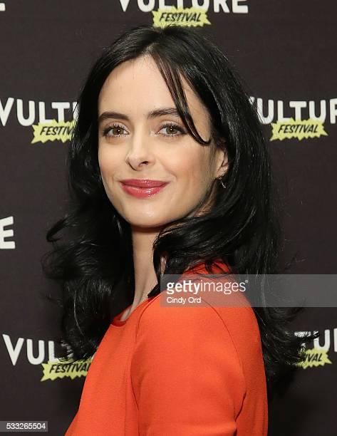 Actress Krysten Ritter attends the Jessica Jones Event at Vulture Festival at Milk Studios on May 21 2016 in New York City