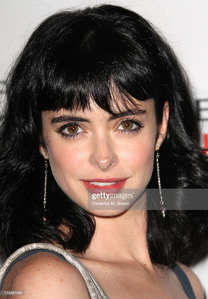Actress Krysten Ritter attends the Opening Night of 'Beauty Culture' at The Annenberg Space For Photography on May 19, 2011 in Century City, California.