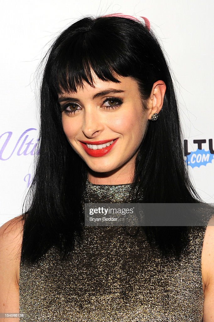 Actress Krysten Ritter attends the premiere party for 'Don't Trust The B---- In Apt 23' hosted by New York Magazine and Vulture at Toro Lounge at Plein Sud on October 22, 2012 in New York City.
