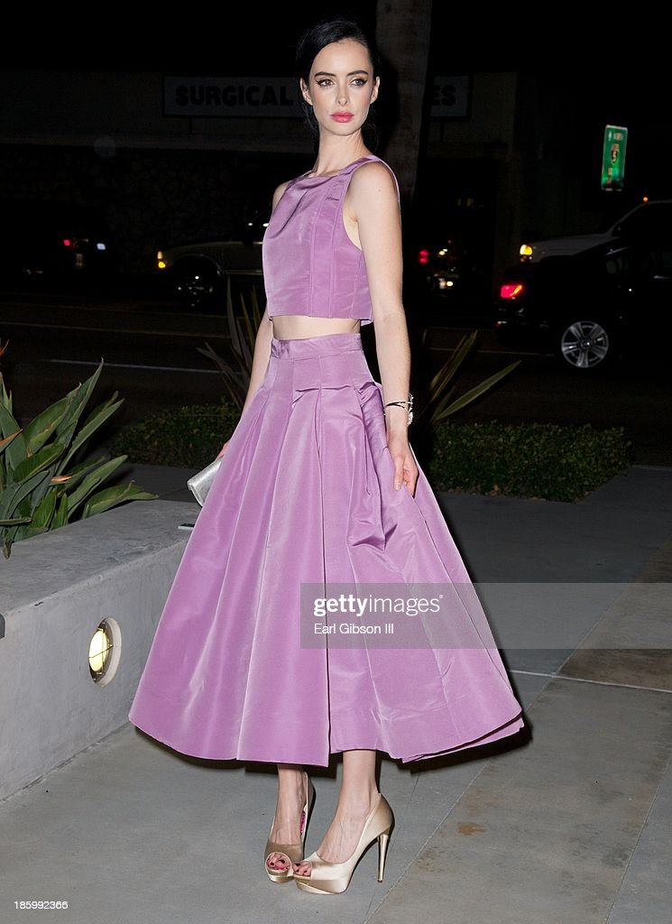 Actress Krysten Ritter attends Van Cleef & Arpels New Exhibit Opening Night Reception at The Bowers Museum on October 26, 2013 in Santa Ana, California.