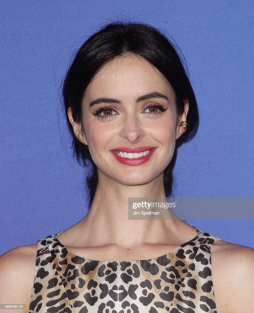 Actress Krysten Ritter from 'Mission Control' attends the 2014 NBC Upfront Presentation at The Jacob K Javits Convention Center on May 12 2014 in New...