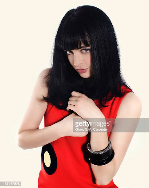 Actress Krysten Ritter poses for Bust Magazine on November 17 2008 in New York City