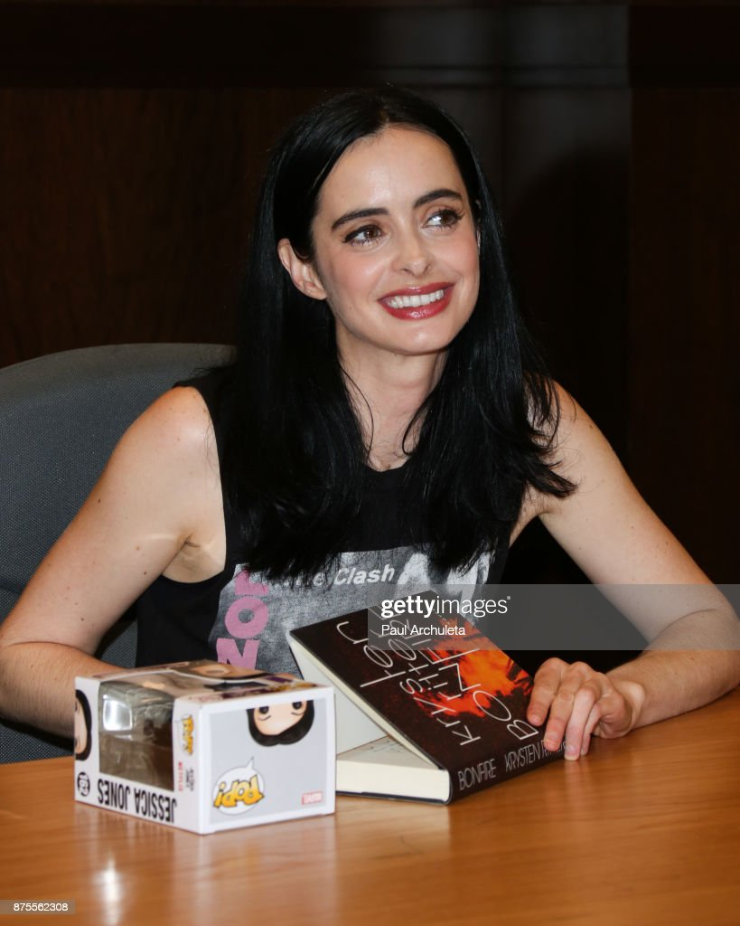 "Krysten Ritter Book Signing For ""Bonfire"""