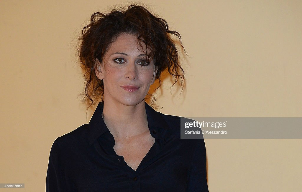 Actress <a gi-track='captionPersonalityLinkClicked' href=/galleries/search?phrase=Ksenia+Rappoport&family=editorial&specificpeople=4333988 ng-click='$event.stopPropagation()'>Ksenia Rappoport</a> attends 'Noi 4' Photocall on March 14, 2014 in Milan, Italy.