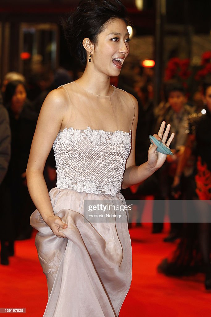 Actress Kwai Lun Mei attends the 'Flying Swords Of Dragon Gate' Premiere during day nine of the 62nd Berlin International Film Festival at the Berlinale Palast on February 17, 2012 in Berlin, Germany.