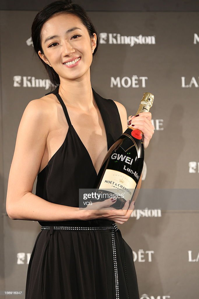 Actress Kwai Lun-Mei attends a celebration after the 49th Golden Horse Awards on November 24, 2012 in Ilan, Taiwan.