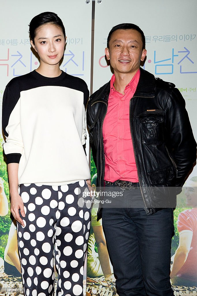 Actress Kwai Lun-Mei from Taiwan and director Yang Ya-Che attend the 'Girlfriend, Boyfriend' press screening at Lotte Cinema on January 18, 2013 in Seoul, South Korea. The film will open on February 07 in South Korea.