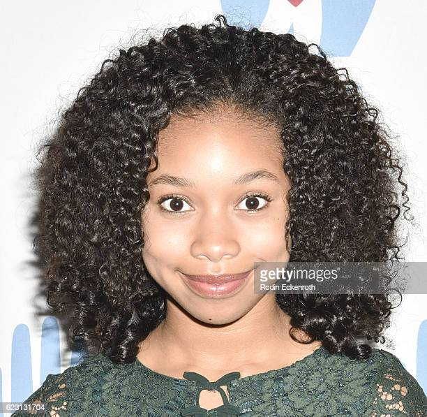 Actress KylaDrew Simmons arrives at the 3rd Annual Save A Child's Heart Gala at Sony Studios Commissary on November 13 2016 in Culver City California