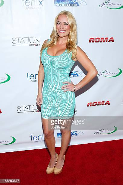 Actress Kyle Keller attends Playboy Radio's Hollywood Casino Night benefiting the Leukemia Lymphoma Society's Hodgkins Haters at W Hollywood on...