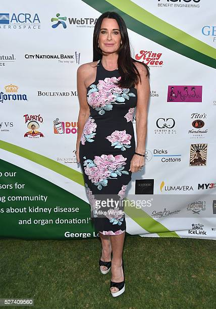 Actress Kyle Richards attended the 9th Annual George Lopez Celebrity Golf Classic to benefit The George Lopez Foundation on Monday May 2nd at the...