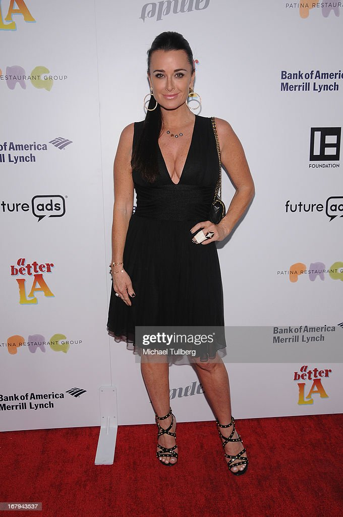 Actress Kyle Richards attends A Better LA's 'An Evening With A View' Annual Gala at AT&T Center on May 2, 2013 in Los Angeles, California.